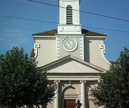 Dimanche 2 décembre 2018 à 11 h – Messe à l'Église de Sainte-Croix à Carouge, à l'occasion de la Journée pour L'abolition de l'esclavage, l'engagement des religions