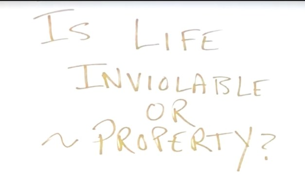 "DIGNITY OF LIFE / IS LIFE INVIOLABLE OR A ""PROPERTY"" – A GUIDE BOOK to help you to direct your decisions towards human dignity"