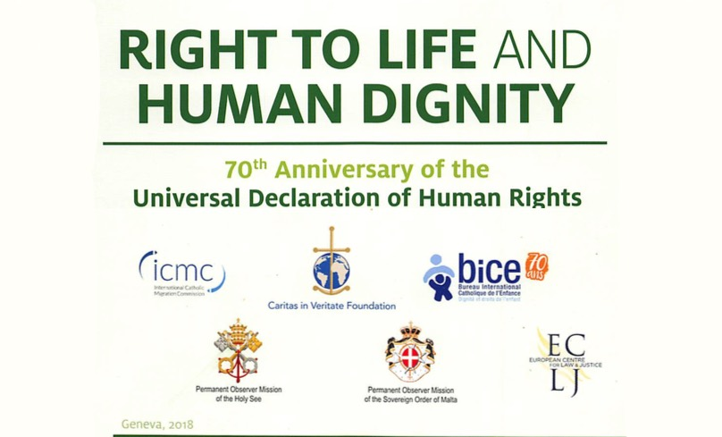 "Panel on Dignity of life / Is life inviolable or a ""Property"" ? / Permanent Mission of the Holy See to the United Nations – ARCHBISHOP IVAN JURKOVIČ – 3 Dec. 2018"