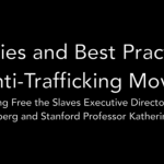 Stanford University's WSD HANDA Center for Human Rights and International Justice:  priorities and best practices in the anti-trafficking movement – Video