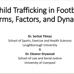 Contextualisation of the child trafficking in Football