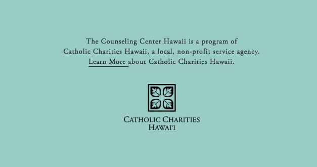 US –  THE COUNSELING CENTER HAWAII – THE CATHOLIC CHARITIES HAWAÏ