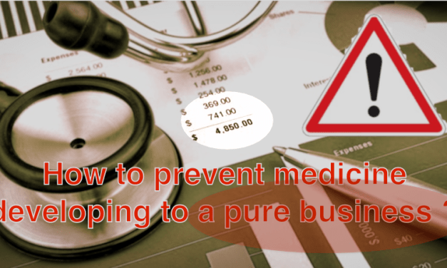 Doctor Bernhard Egger: An ethical measure to prevent medicine developing to a pure business – FORUM ENGELBERG – Geneva 25th June 2019