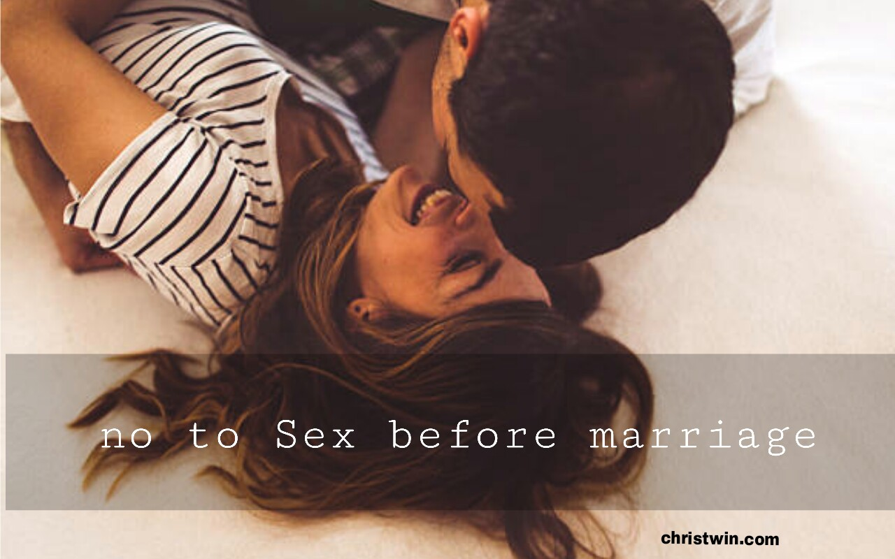 Consequences Of Sex Before Marriage - Christ Win-7351