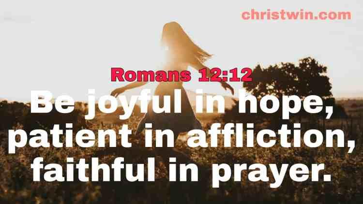 bible verses about prayer