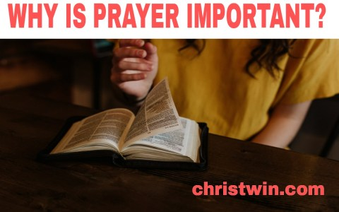 What is prayer and why is it important