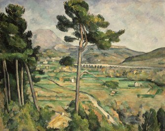 Working Title/Artist: Mont Sainte-Victoire and the Viaduct of the Arc River Valley Department: European Paintings Culture/Period/Location: HB/TOA Date Code: Working Date: 1882-85 scanned for collections