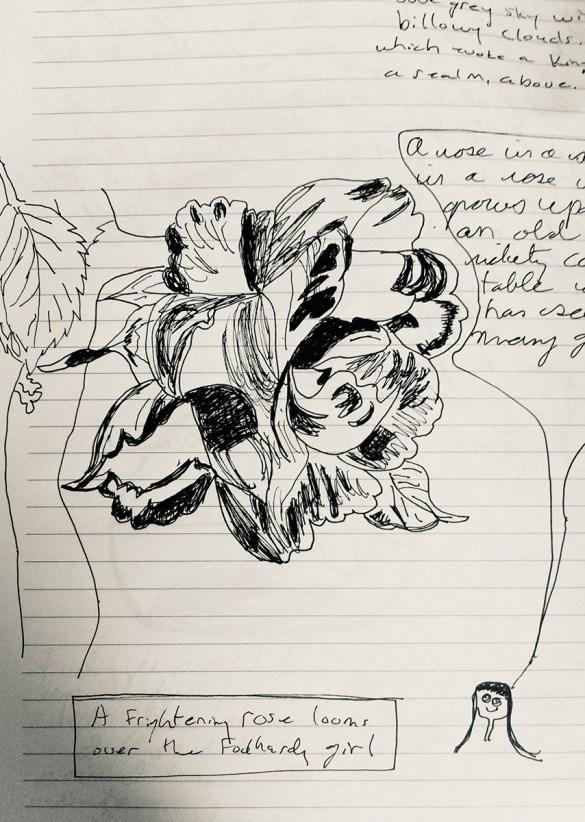 Original art by author Christy Ann Conlin