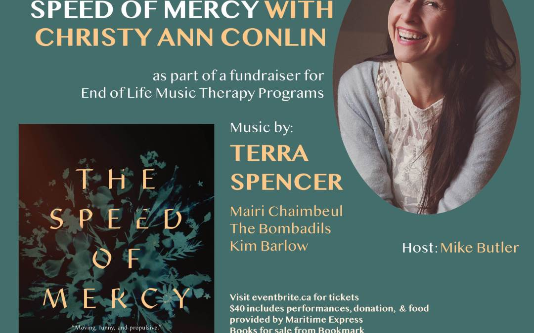 A Celebration of THE SPEED OF MERCY April 24, 2021