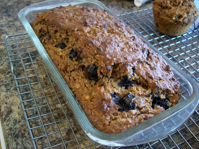 Vegan Banana Oat Bread - gluten free - Christy Brissette media dietitian 80 Twenty Nutrition