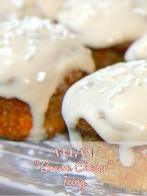 egan Cream Cheese Icing - paleo, gluten free, dairy free, vegan - Christy Brissette media dietitian nutritionist Toronto Los Angeles 80 Twenty Nutrition