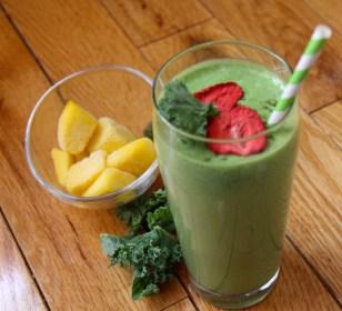 Tropical Kale Green Smoothie with Metamucil - vegan, gluten-free - Christy Brissette, Media dietitian, 80 Twenty Nutrition