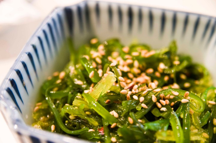 Seaweed Salad - Seaweed Health Benefits from Registered Dietitian Christy Brissette of 80 Twenty Nutrition