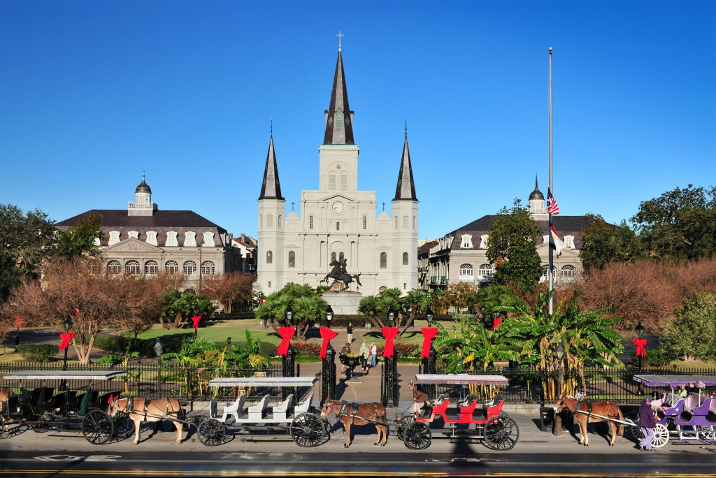 St Charles Cathedral in New Orleans