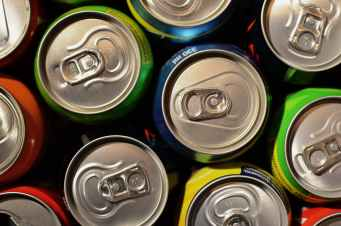 drinks supermarket cans beverage