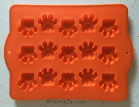 silicone paw baking sheet