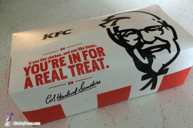 KFC box - can't wait to get at that chicken