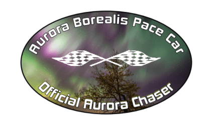 official aurora borealis pace sticker