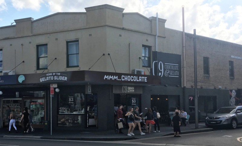 C9 Chocolate & Gelato, Newtown, Sydney
