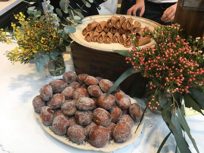 Doughnuts and Cancoli