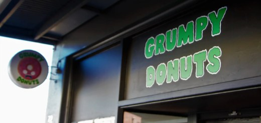 Grumpy Donuts. Camperdown, Sydney, NSW.