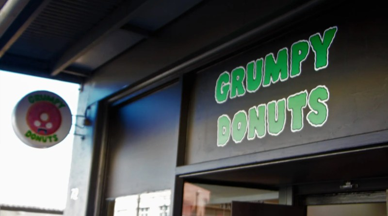 Grumpy Donuts. Camperdown, Sydney, NSW.