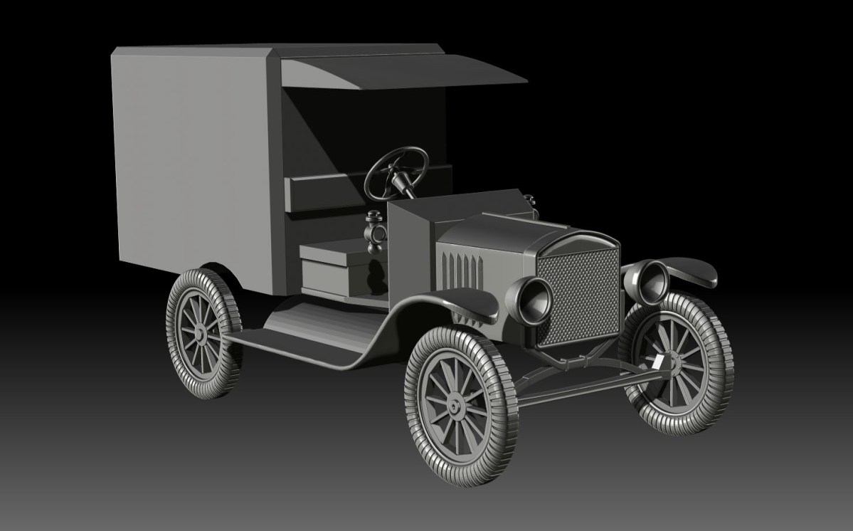 World War 1 ambulance 4