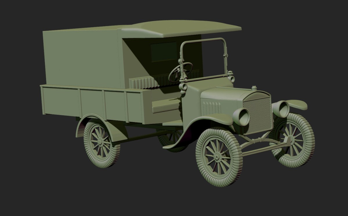 WW1 Ambulance Model 1