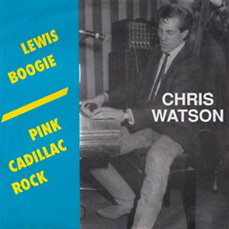 lewis-boogie - chris watson vinyl 45t