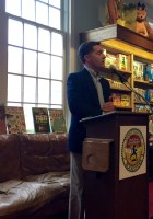 Author Ray O'Conor at Booktopia Northshire Bookstore