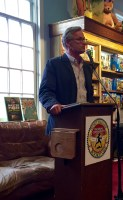 Author Stephen P. Kiernan at Booktopia Northshire Bookstore