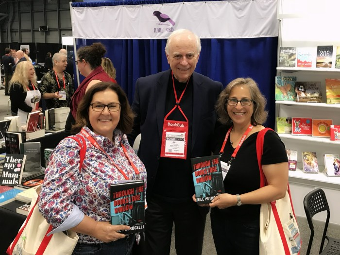 Bill Petrocelli with the Book Cougars - WildmooBooks