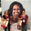 "The Book Cougars ""with"" Michelle Obama at BookExpo on WildmooBooks"