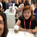 Susan Orlean and Chris Wolak at BookExpo 2018