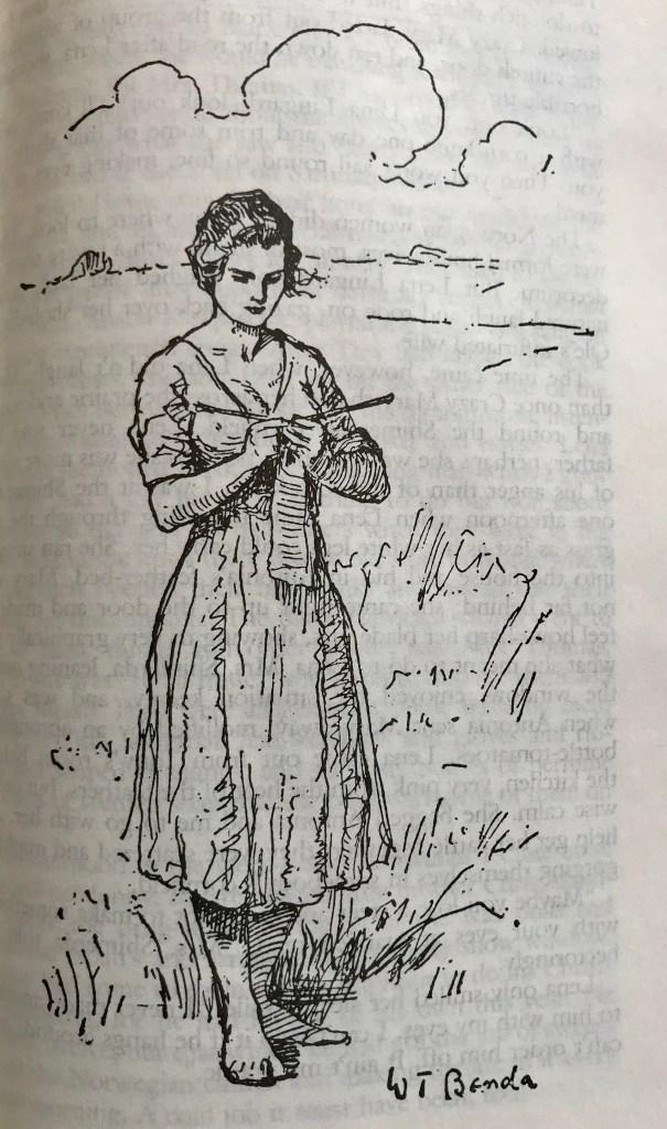 My Antonia Knitting - WildmooBooks Willa Cather Novel Reading Challenge