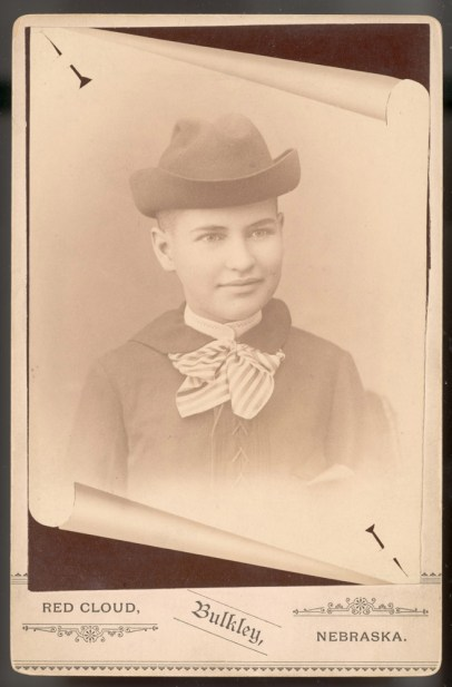 Willa Cather 1890-91