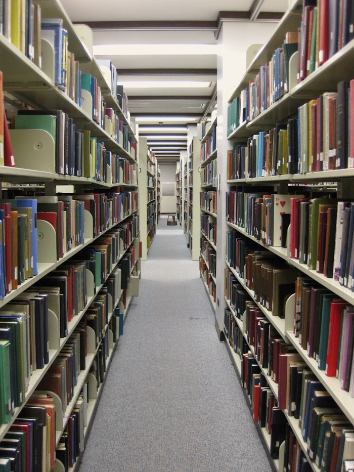 In the Stacks at Cudahy Library Loyola University Chicago