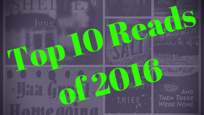 Top 10 Reads of 2016