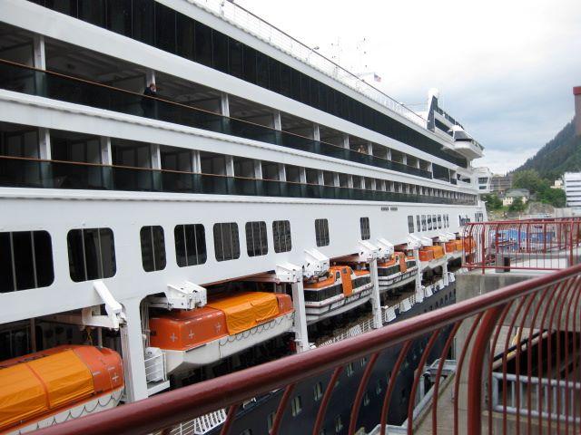 Library Visit: Juneau, Alaska - ms Rotterdam Holland America in port