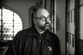 Photo of Ruiz Zafón from his website (source)