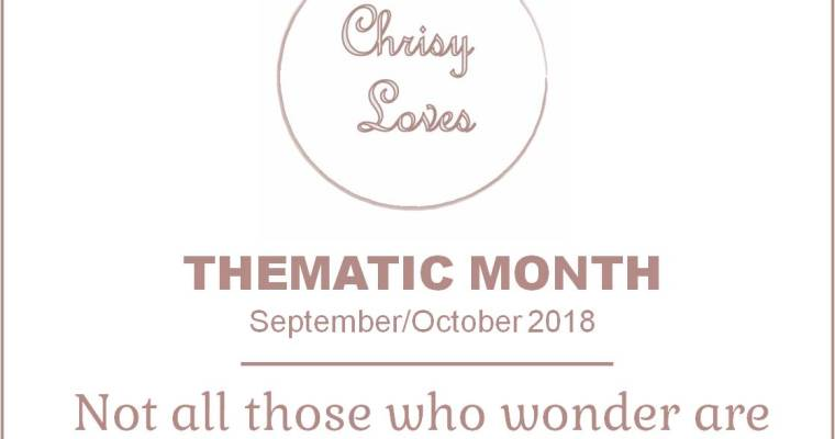 Thematic month – September & October 2018