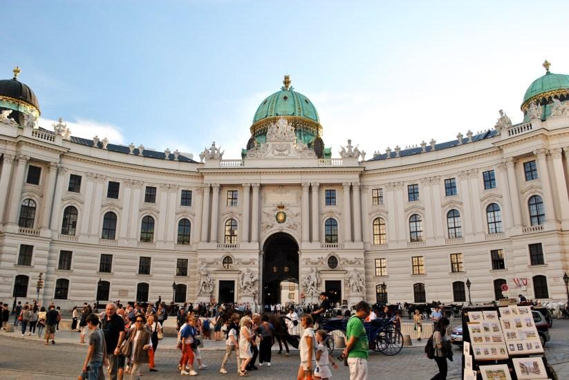 Hufburg Palace, Vienna, Austria