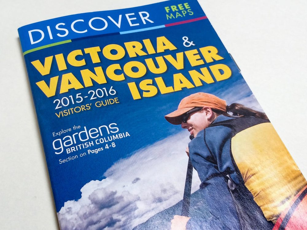 Discover Victoria and Vancouver Island rack card
