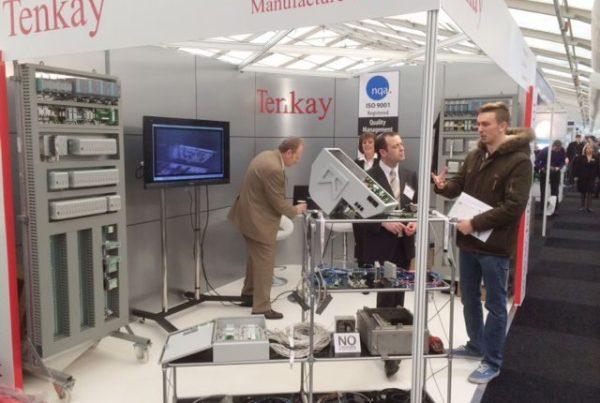 Shell Scheme Stand. Exhibition Stand Experts - Chromatics UK. Sussex