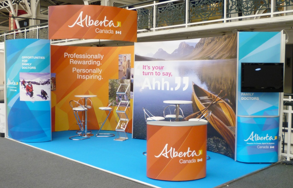 Exhibition Stand Options : Shell scheme stands design print & install chromatics uk sussex