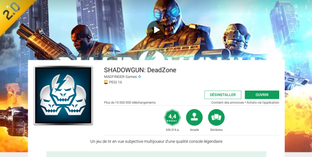 Le Google Play Store sur Chromebook