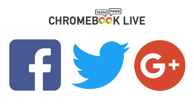 Chromebook Live est aussi sur les réseaux sociaux !