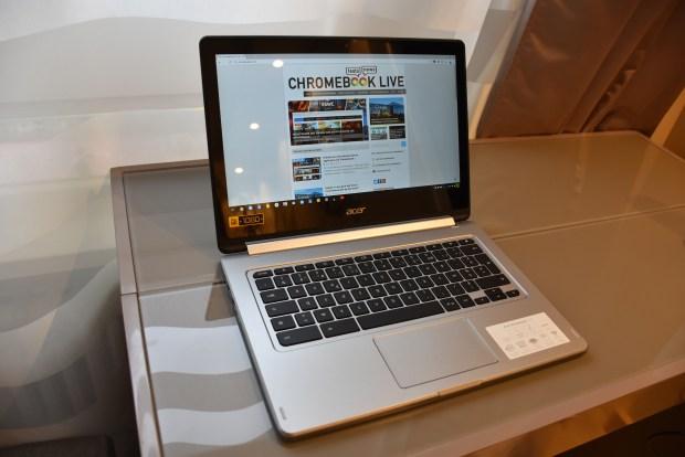 Test du Acer Chromebook R13