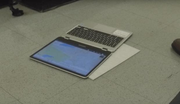 Le Drop Test du Samsung Chromebook Plus en vidéo