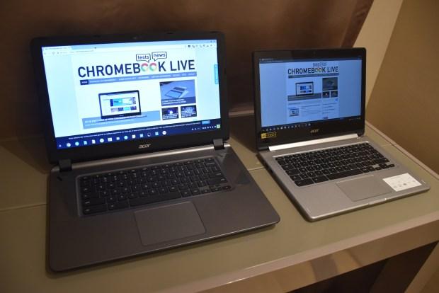 Test du Acer Chromebook 15